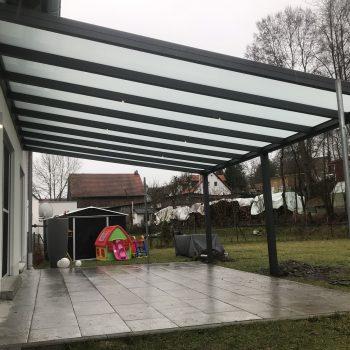 Überdachungsschutz vor Regen