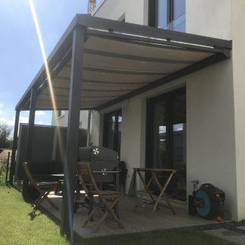 Terrasse und gutes Wetter